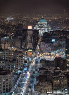 Beograd by helivideo.rs