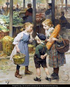 Henry Jules Jean Geoffroy (1853 -1924) – Pintor Francês_3