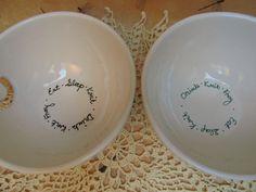 Yarn bowl (Eat, Sleep, ...) — HaldeCraft