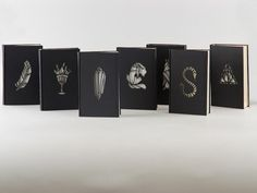 Hungarian design student Kinsco Nagy, has revamped the covers for all seven of the Harry Potter books as part of her BA project. In doing so she created a beautiful new concept for the world's most-read book franchise — giving it a grown-up, ethereal feel that we are ready to display on our bookshelves right NOW.
