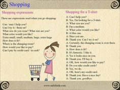 It´s shopping time! #tips #english #inglés #vocabulary #teaching #exercises #learnenglish