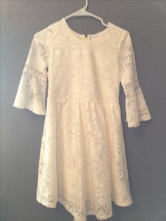 Sunday White Lace Dress from Target