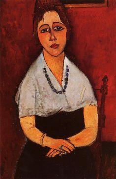 The Athenaeum - Elena Picard (Amedeo Modigliani - )