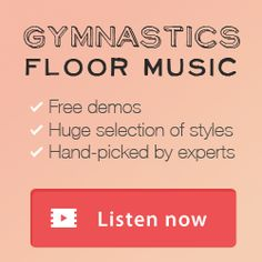 Gymnastics Floor Music Website | Over 2000+ exclusive tunes @ unbeatable prices & FREE demos. New songs added weekly!