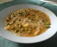 Ricetta Minestra riso, piselli e patate pubblicata da graziellar32 - Questa ricetta è nella categoria Zuppe, passati e minestre