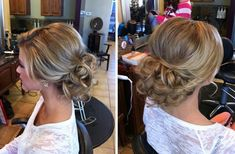 Love this classy low updo! Sometimes classy is just right.