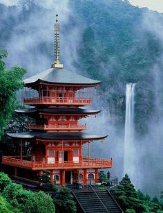 Nachi Falls , Nachikatsuura, Japan:
