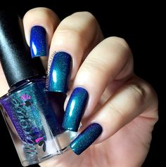 Fashion Polish: Colors by Llarowe Fall collection part 2 : the holos!