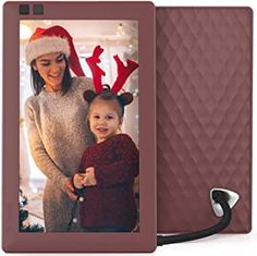 Boquite Digital Photo Frame Black-US Plug 13 HD Multi-Function Motion Detection Music Movie Player Remote Control Gift for Children