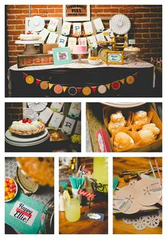 Sweet As Pie Birthday Party - a vintage style party at a sweet little bakeshop with tons of printables and delicious pies. You can have your own Sweet As Pie Party! Check out post for details.