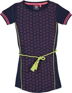 QUAPI jurk Dahlia (blue night) Maat 116 en 152