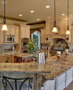Una cocina así quiero. Y creo cabe en mi casa.