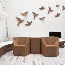 Kartonowe meble wkraczają na salony - Archemon - Architektura, Design, InspiracjeArchemon – Architektura, Design, Inspiracje |