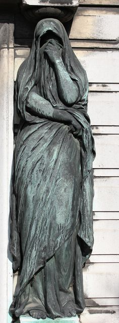 Ponsat's Tombstone at the Pere Lachaise Cemetery in Paris by Pierre Yves Beaudouin