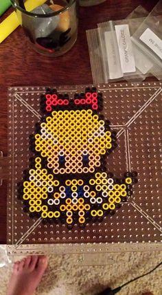 Sailor Venus perler beads by IsXack-bassist on DeviantArt