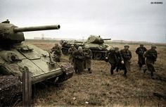 Red Army infantry in combat WWII   Flickr - Photo Sharing!