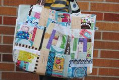 Patchwork Tote | by quarter inch mark/ Chase