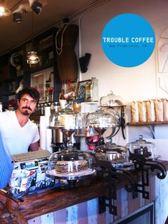 Trouble Coffee / Outer Sunset / San Francisco ~ it's like the soup nazi episode of Seinfeld. Know what you want and with no modifications.
