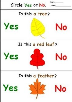 Fall Activity – Yes No Questions for Speech Therapy FREE – Tammy Phillips – art therapy activities Speech Therapy Worksheets, Speech Language Therapy, Speech Therapy Activities, Kindergarten Activities, Aphasia Therapy, Activities For Autistic Children, English Activities For Kids, What Questions Speech Therapy, Teaching Phonics