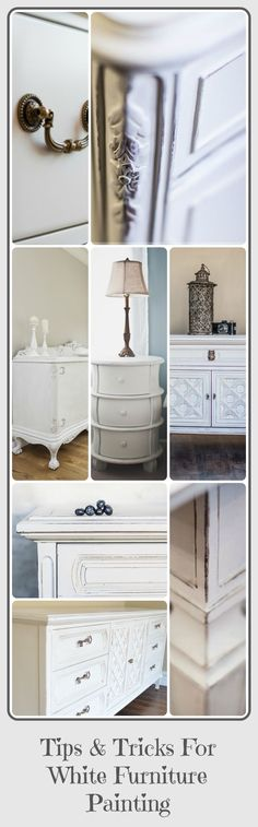 After painting many pieces of furniture white, here are some helpful tips to help you avoid some of the problems that can go along with white furniture painting. View the …