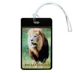 Luggage Tag - Photo Lion