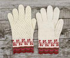 Estonian traditional mittens 19th century, Mulgimaa
