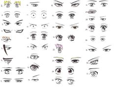 33_manga_and_anime_character_eye_references_by_usui_misaki_sama-d4ld1n0.jpg 2,000×1,500 pixels