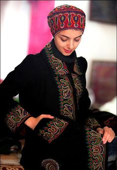Traditional dress of iran a product of the glorious persian embroidered pateh handicrafts in kerman pateh is the typical iranian needlework bushes cedar bergamot and irises publicscrutiny Image collections