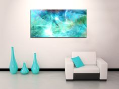 """""""Life is a Gift"""" - Large canvas art by Jaison Cianelli @ http://www.cianellistudios.com/abstract_art.html"""
