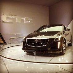 Live at the New York International Auto Show: the All-New 2014 Cadillac #CTS #NYIAS.