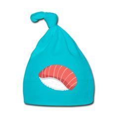 Geschenke Shop | Sushi - Baby Mütze Baby Outfits, Shops, Baby Kind, Kind Mode, Babys, Drawstring Backpack, Sushi, Beanie, Backpacks