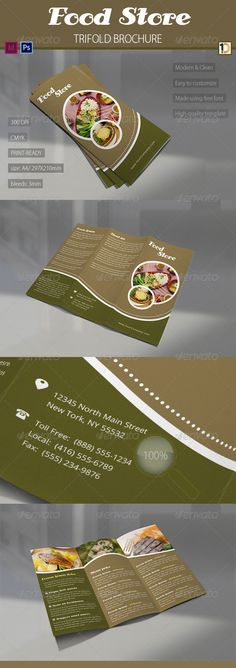 Tri-fold brochure idea