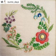 "2,391 Likes, 8 Comments - Babi Bernardes (@bordados_e_bordadeiras) on Instagram: ""@izumic_days #needlework #handembroidery #bordado #broderie #embroidery #ricamo"""