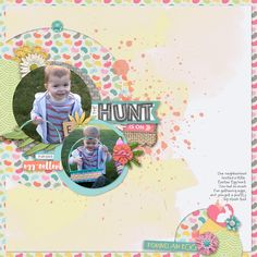 Hello Easter Collection + Iffy's Templates: Dotted Pack v.02 from www.peppermintcreative.com