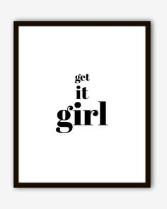 Get It Girl Poster