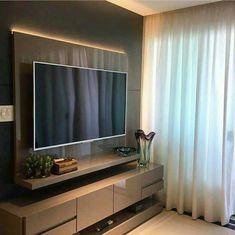 Tv Unit Interior Design, Small House Interior Design, House Furniture Design, Home Room Design, Modern Bedroom Design, Classy Living Room, Beige Living Rooms, Tv Cabinet Wall Design, Living Room Tv Unit Designs