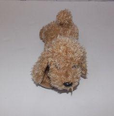 "Gund Barky Plush Stuffed Dog 10"" 40815 Light Brown #GUND"