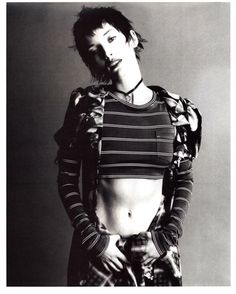 Lucie in Marc Jacobs for Perry Ellis grunge collection from Vogue