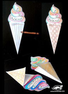 Zmrzlina z papiera