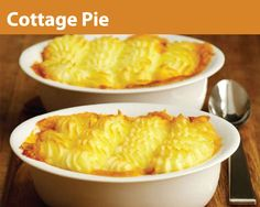 Cottage Pie, a classic.  'nuff said.