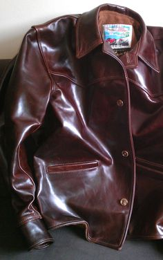 Men's leather jackets really are a very important part of every single man's set of clothes. Men need to have outdoor jackets for assorted moments and several weather conditions. Men's Jackets. Vintage Leather Jacket, Men's Leather Jacket, Leather Men, Leather Jackets, Jacket Men, Custom Leather, Red Leather, 1970 Style, Cuir Vintage