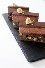 CookieCrumble: Brownie m. Chokolademousse