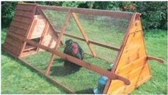 movable chicken coop plans | ... chicken coop designs this seems the best for the portable chicken coop