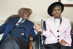 William, 97, and Willie Mae Fullwood, 100, both of Mount Laurel have been married for 75 years.  They have 8 children together and currently stay in t...