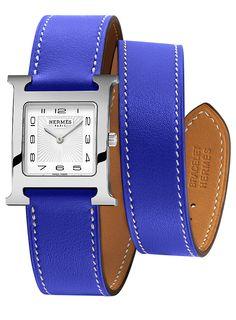 Hermes H Hour Quartz Medium MM Ladies Watch