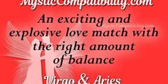 Virgo and Aries are hardworking partners in this relationship. Libra Pisces Compatibility, Virgo And Aries, Aries Relationship, Love And Respect, Mystic, Zodiac Signs, Star Constellations, Horoscopes, Zodiac Mind