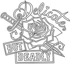 Femme Fatale - Delicate but Deadly_image