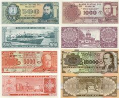 The other language spoken is Paraguayan Guaraní. There were no pictures available to show an example of this language so this money is written in this language.