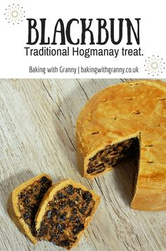 What better treat to offer up as a first-footer than the traditional Black Bun? Scottish Dishes, Scottish Recipes, Irish Recipes, Uk Recipes, Bakery Recipes, Cooking Recipes, Bread Recipes, Cooking Tips, New Year's Food