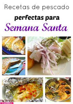 10 Recetas con pescado muy fáciles de hacer para Semana Santa. Recetas De  Pescado Faciles 670d958535d